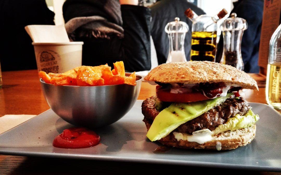 La escala de la hamburguesa