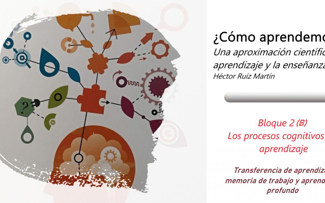 Los procesos cognitivos del aprendizaje (B)