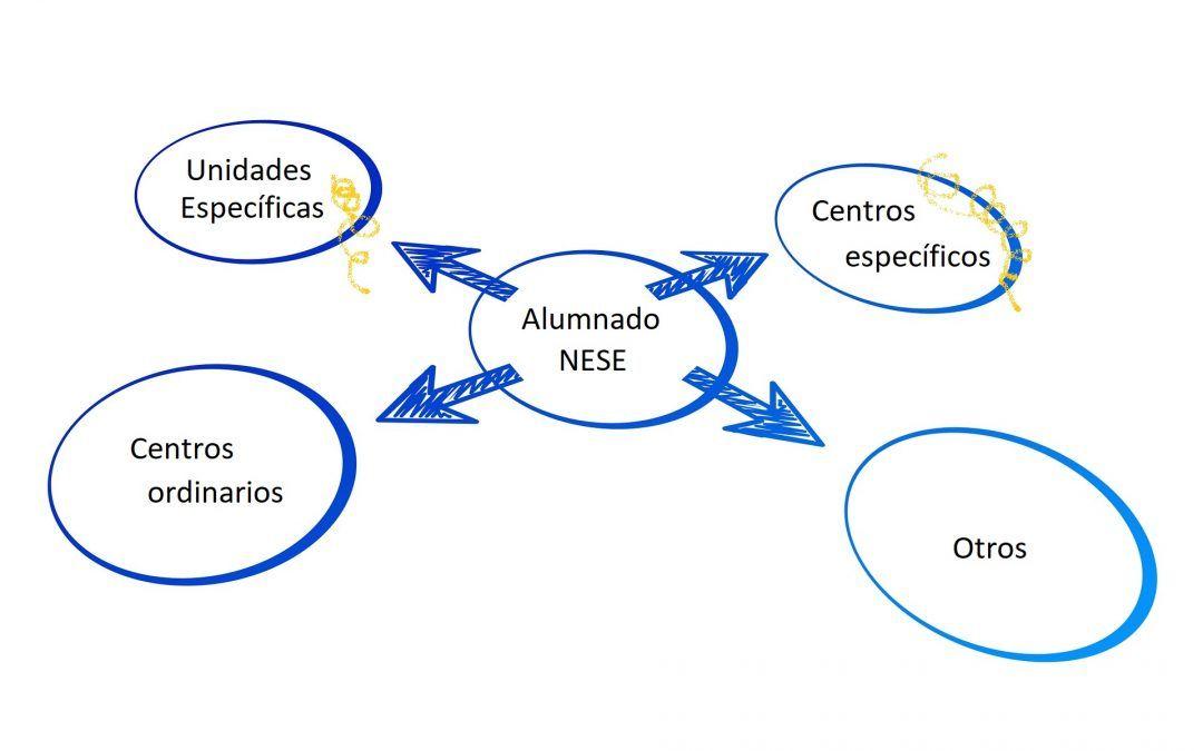 Organización y funcionamiento en Centros de Educación Especial y Unidades Específicas en centros ordinarios. Curso 2021-2022